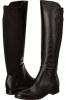 Black Leather Franco Sarto Marielle for Women (Size 7)
