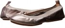 Samara Metallic Leather Fold Up Flat Women's 6