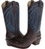 13 Shaft Single Welt Snip Toe Embroidered Shaft Boot Women's 7