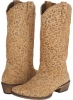 Leopard Print Snip Toe Boot Women's 7