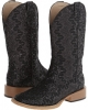 Lace Glitter Square Toe Boot Women's 5