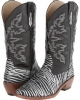 Zebra Glitter Snip Toe Boot Women's 5.5