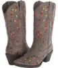 Flower Garden Embroidered Boot Women's 7