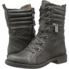 Grey Leather Nine West Ferocity for Women (Size 7)