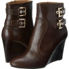 Dark Brown Leather Nine West Herbert for Women (Size 7)