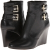 Black Leather Nine West Herbert for Women (Size 7)