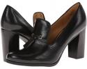 Black/Black Leather Nine West Noura for Women (Size 7)