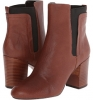 Brown/Black Leather Nine West Saga for Women (Size 7)