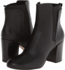 Black/Black Leather Nine West Saga for Women (Size 7)