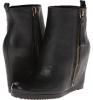 Black Leather Nine West Taboulie for Women (Size 7)