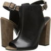 Black/Yucca Schutz Quesadilha for Women (Size 7)