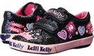 Lelli Kelly Kids Glitter Amy Hook and Loop Size 4
