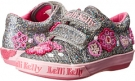 Lelli Kelly Kids Glitter Olivia Hook and Loop Size 12